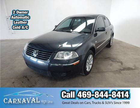 2004 Volkswagen Passat for sale in Dallas, TX
