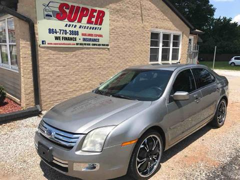 2008 Ford Fusion for sale in Greenville, SC