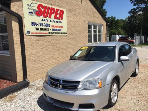 2012 Dodge Avenger for sale in Greenville, SC