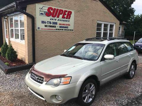 2005 Subaru Outback for sale in Greenville, SC