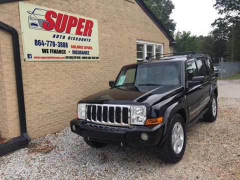 2006 Jeep Commander for sale in Greenville, SC