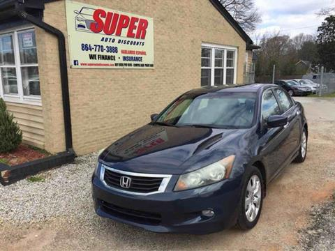 2010 Honda Accord for sale in Greenville, SC