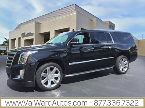 2016 Cadillac Escalade ESV for sale in Fort Myers, FL