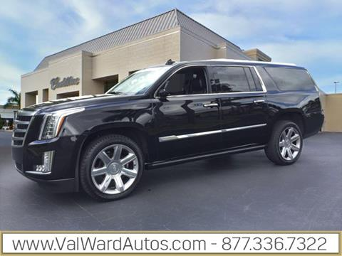 2015 Cadillac Escalade ESV for sale in Fort Myers, FL