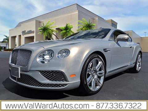2016 Bentley Continental for sale in Fort Myers, FL