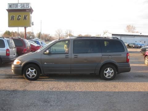 2003 Pontiac Montana for sale in Grand Rapids, MI