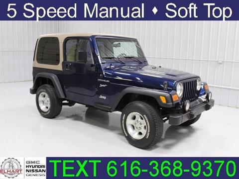 2002 Jeep Wrangler for sale in Holland, MI