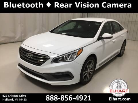 2017 Hyundai Sonata for sale at Elhart Automotive Campus in Holland MI