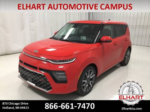 2020 Kia Soul for sale at Elhart Automotive Campus in Holland MI