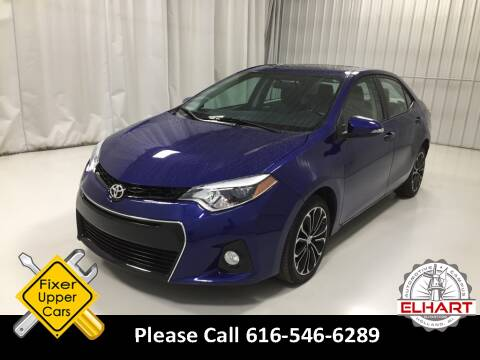 2014 Toyota Corolla for sale at Elhart Automotive Campus in Holland MI