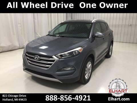 2017 Hyundai Tucson for sale at Elhart Automotive Campus in Holland MI