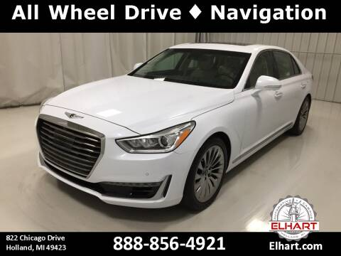 2019 Genesis G90 for sale at Elhart Automotive Campus in Holland MI