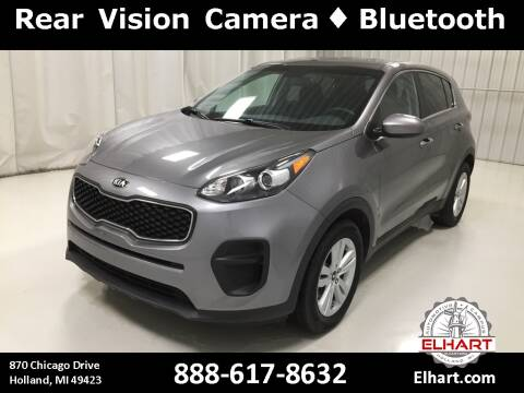 2018 Kia Sportage for sale at Elhart Automotive Campus in Holland MI