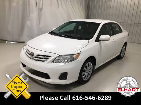 2013 Toyota Corolla for sale at Elhart Automotive Campus in Holland MI