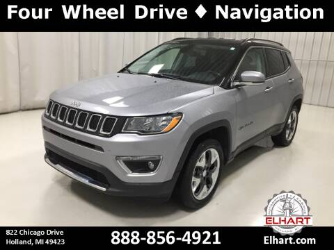 2018 Jeep Compass for sale at Elhart Automotive Campus in Holland MI