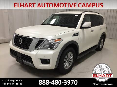 2020 Nissan Armada for sale at Elhart Automotive Campus in Holland MI