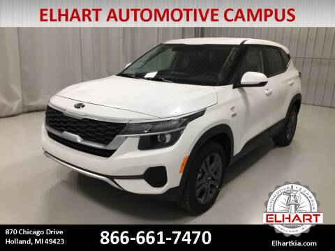 2021 Kia Seltos for sale at Elhart Automotive Campus in Holland MI