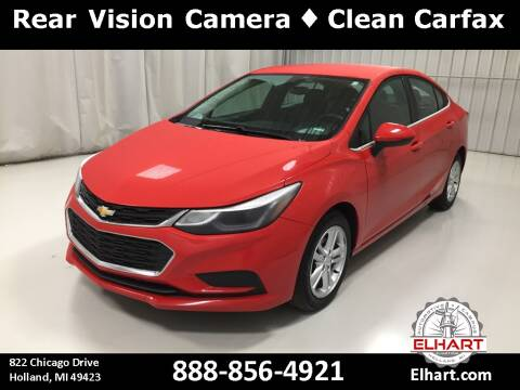 2016 Chevrolet Cruze for sale at Elhart Automotive Campus in Holland MI