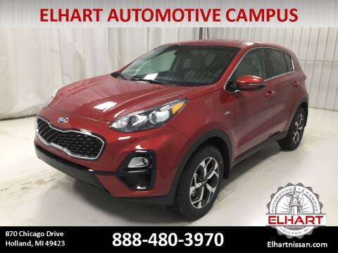 2021 Kia Sportage for sale at Elhart Automotive Campus in Holland MI