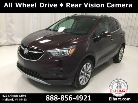 2017 Buick Encore for sale at Elhart Automotive Campus in Holland MI