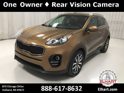 2017 Kia Sportage for sale at Elhart Automotive Campus in Holland MI
