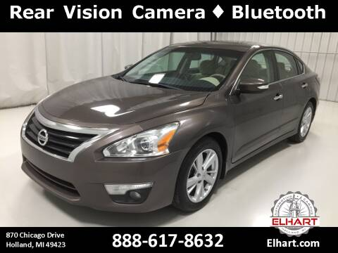 2015 Nissan Altima for sale at Elhart Automotive Campus in Holland MI