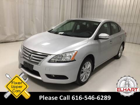 2014 Nissan Sentra for sale at Elhart Automotive Campus in Holland MI