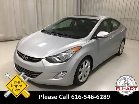 2012 Hyundai Elantra for sale at Elhart Automotive Campus in Holland MI