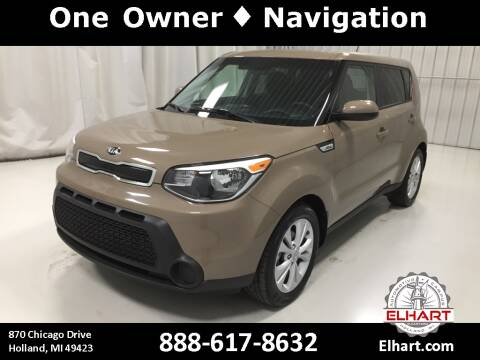 2015 Kia Soul for sale at Elhart Automotive Campus in Holland MI