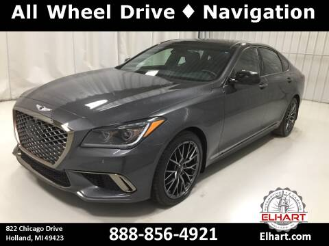 2018 Genesis G80 for sale at Elhart Automotive Campus in Holland MI