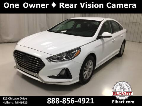 2018 Hyundai Sonata for sale at Elhart Automotive Campus in Holland MI