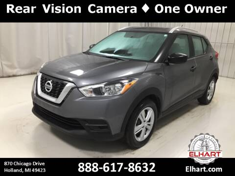 2019 Nissan Kicks for sale at Elhart Automotive Campus in Holland MI