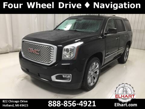2015 GMC Yukon for sale at Elhart Automotive Campus in Holland MI