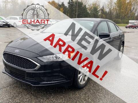 2017 Ford Fusion for sale at Elhart Automotive Campus in Holland MI