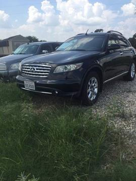 2007 Infiniti FX35 for sale in Decatur TX