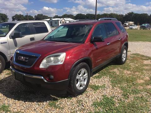 2007 GMC Acadia for sale in Decatur TX