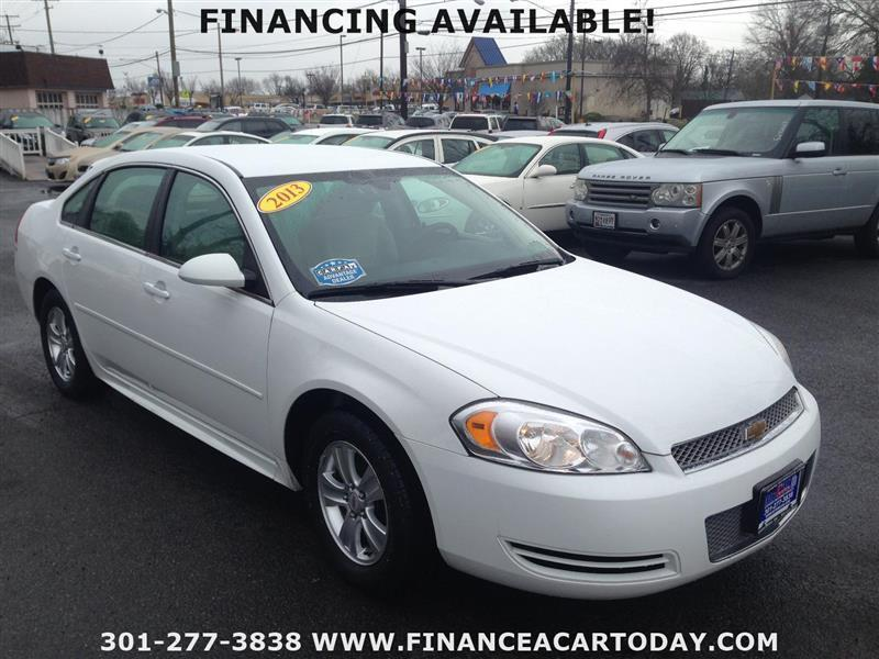 2013 Chevrolet Impala for sale at Mr. Car City in Brentwood MD