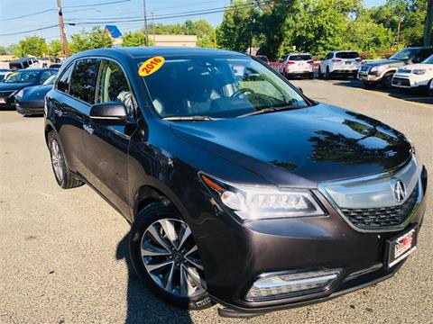 2016 Acura MDX for sale in Brentwood, MD