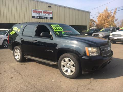 2007 Chevy Tahoe For Sale >> Chevrolet Tahoe For Sale In Fresno Ca Credit World Auto Sales