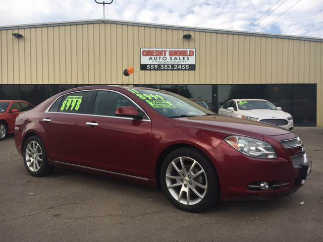 2011 chevrolet malibu ltz in fresno ca credit world auto sales. Black Bedroom Furniture Sets. Home Design Ideas