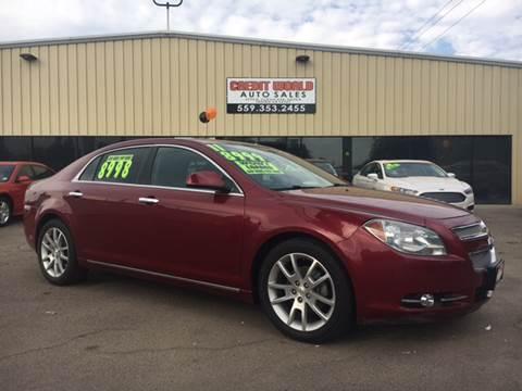 2011 Chevrolet Malibu for sale at Credit World Auto Sales in Fresno CA