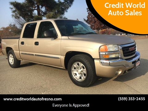 2007 GMC Sierra 1500 Classic for sale at Credit World Auto Sales in Fresno CA