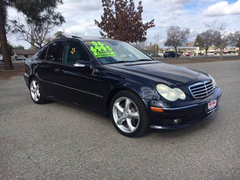 2006 Mercedes-Benz C-Class for sale at Credit World Auto Sales in Fresno CA