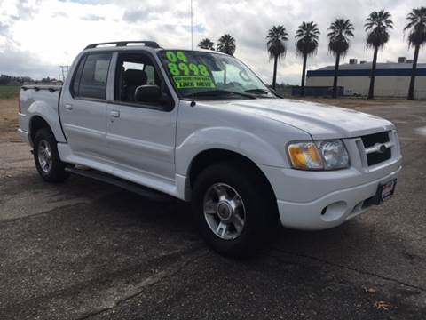 2004 Ford Explorer Sport Trac for sale at Credit World Auto Sales in Fresno CA