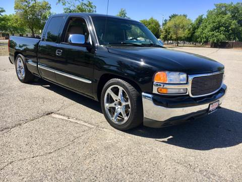 2002 GMC Sierra 1500 for sale at Credit World Auto Sales in Fresno CA