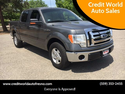 2011 Ford F-150 for sale at Credit World Auto Sales in Fresno CA