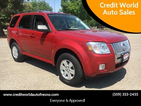 2011 Mercury Mariner for sale at Credit World Auto Sales in Fresno CA