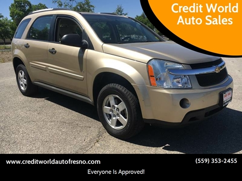 2007 Chevrolet Equinox for sale at Credit World Auto Sales in Fresno CA