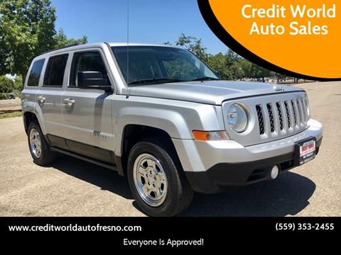 2012 Jeep Patriot for sale at Credit World Auto Sales in Fresno CA