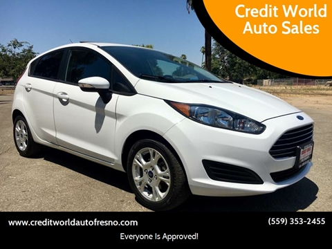 2014 Ford Fiesta for sale at Credit World Auto Sales in Fresno CA